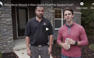 How Much Should A New Home Cost Per Square Foot?