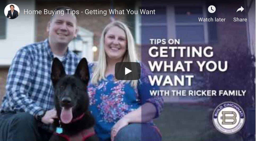 Home Buying Tips-Getting What You Want