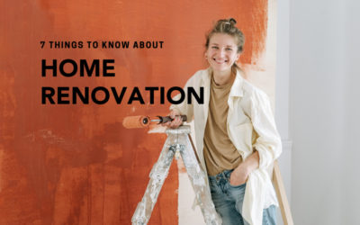 7 Things to Remember While Renovating!